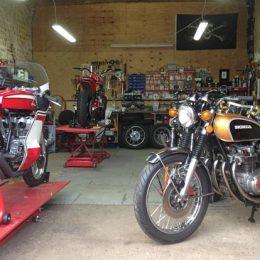 Good Bits Custom Built Classic Motorcycles Workshop